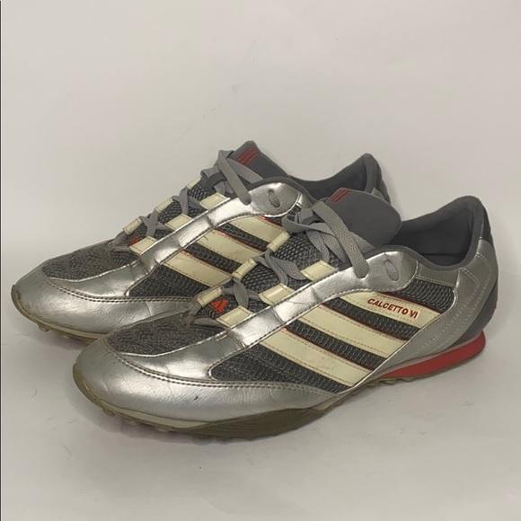 Adidas Calcetto VI Silver men's trainers size 11